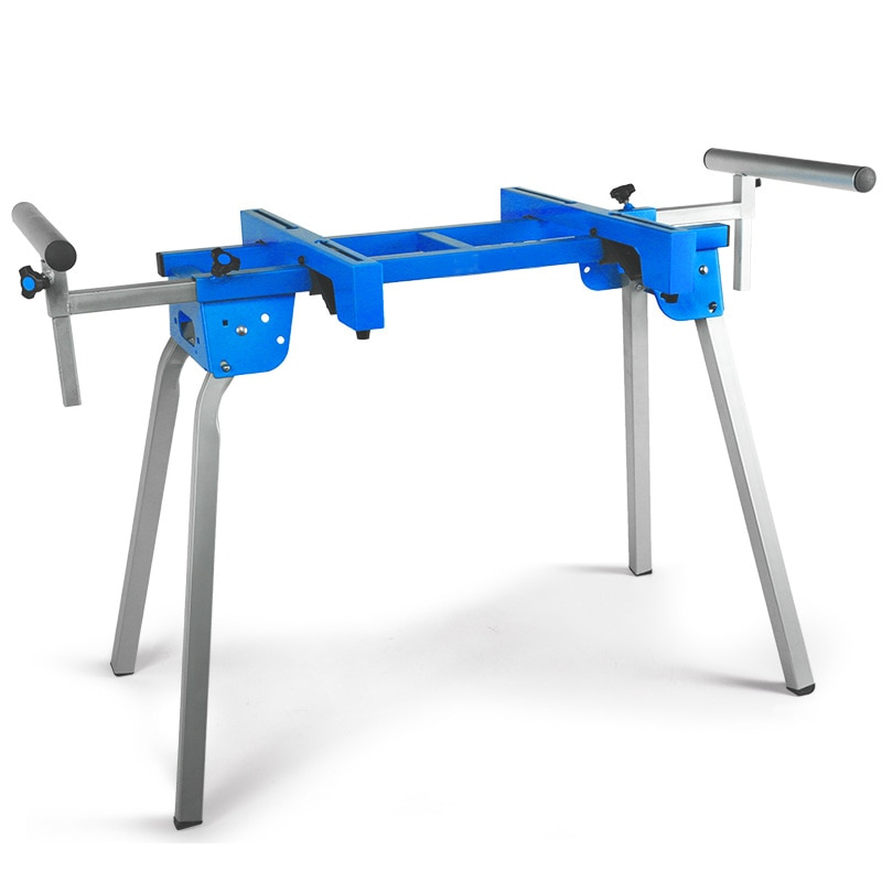Portable Bevel Saw Cutting Machine Support Aluminum Machine Worktable Woodworking Table Mobile Support