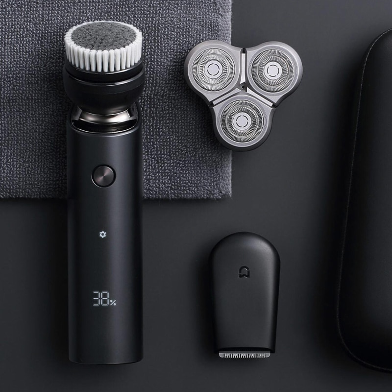 XIAOMI MIJIA Electric Shaver Razor S500C Triple Blade Type-C Rechargeable Trimmer Beard For Men's Face Cleansing Shaving Machine enlarge