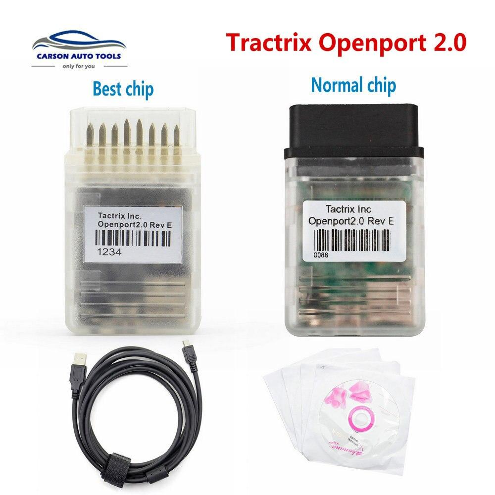 Beste Tactrix Openport 2,0 ECU Flash OBD2 Scanner OPENPORT2.0 OBDII auto Chip Tunning Tactrix Für OBD KÖNNEN ISO K- linie Protokolle