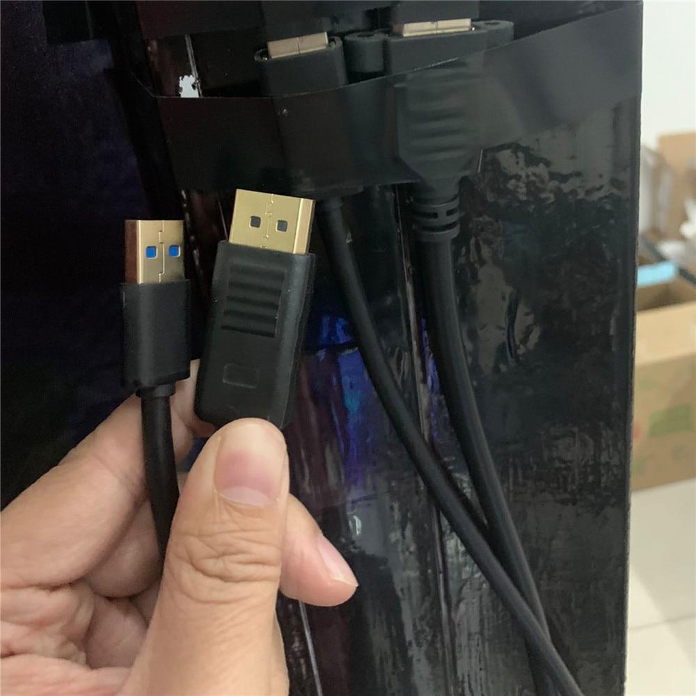 1 متر استبدال تمديد DP كابل ل كوة المتصدع S VR نظارات DP USB عرض خط تمديد كابل رصاص اكسسوارات
