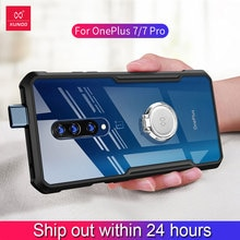 Pour Oneplus 7 Pro étui xundd luxe 3D Laser placage étui en polyuréthane thermoplastique pour One Plus 7 Oneplus7 antichoc coques de téléphone avec sangle