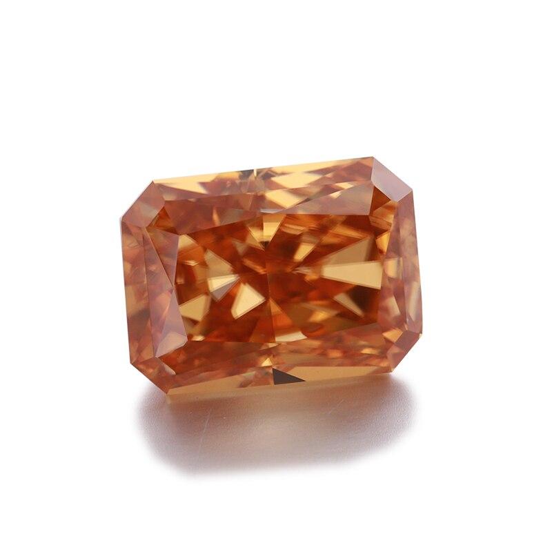 STARSGEM سوبر وايت 3 مللي متر 0.1ct جولة بريليانت قص Mossanite اختبار Possitive Mossanite الخرز للمجوهرات