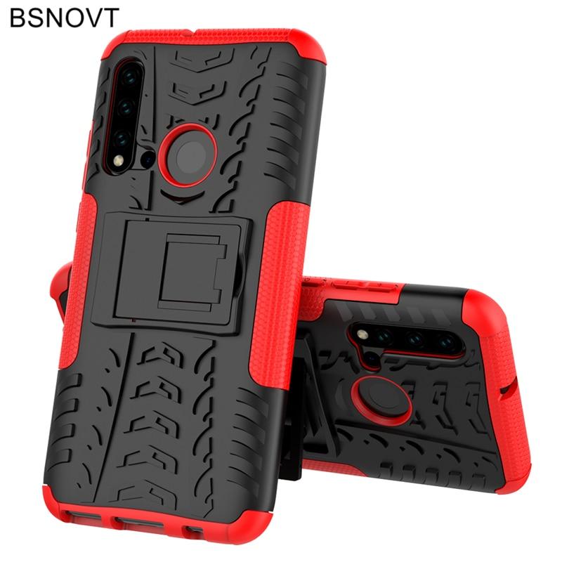 For Huawei P20 Lite 2019 Case Hard Armor Phone Holder Case For Huawei P20 Lite 2019 Cover For Huawei