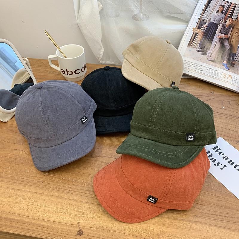 Новинка 2021, короткие пряди, повседневные Универсальные мужские кепки, для улицы, для шоппинга, спортивные мужские бейсболки в стиле хип-хоп