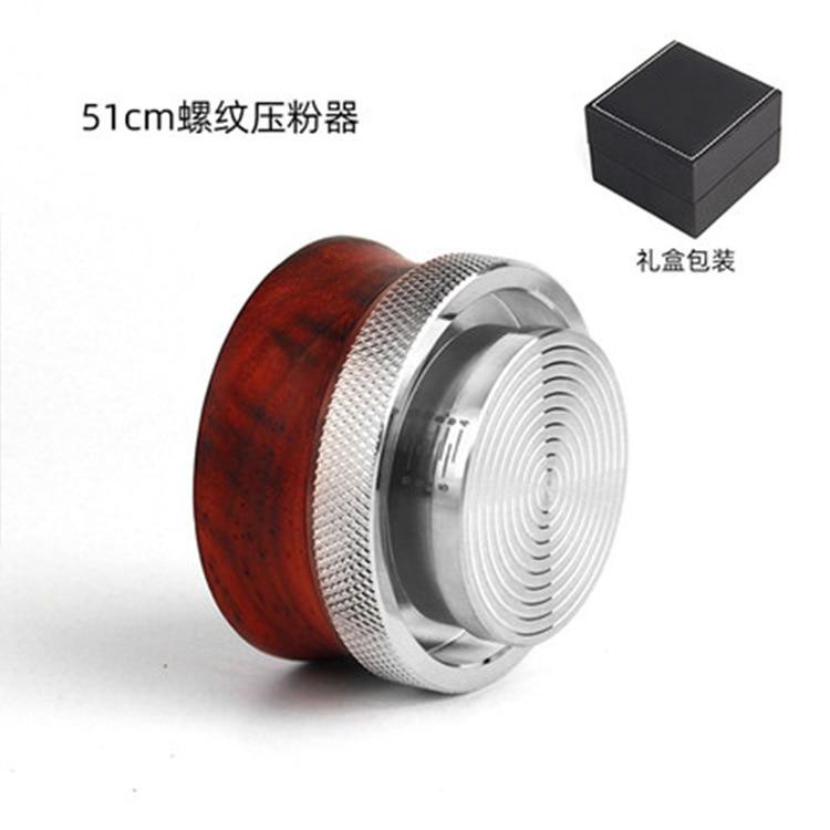 51/58/53mm coffee distributor Espresso 304 Stainless steel Constant Pressure Barista Coffee Bean Press Tamper
