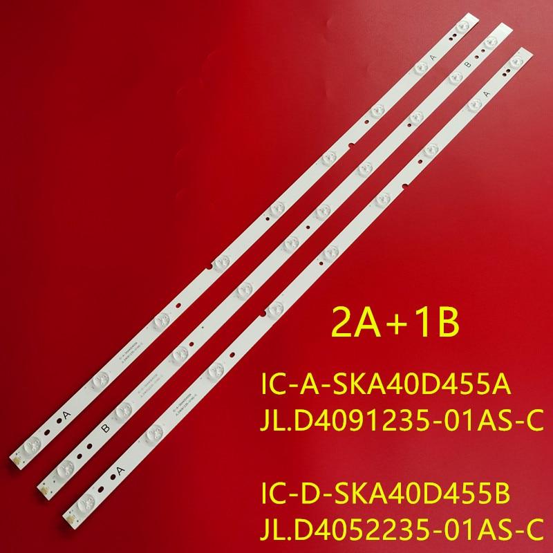 1 مجموعة = 3 قطعة Led قطاع ل ERISSON 40LES73 40LES69 فيلكو Ph40e36dsgw Sp-led40 Jl.D4091235-01AS-C E465853 IC-E-SKA40D455B 455A