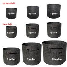 1-30 Gallon Grote Plant Zaailing Groeien Zakken Pot Huis Tuin Gereedschap Aardappel Aardbei Stof Groente Jardin Zaailing Groeiende potten