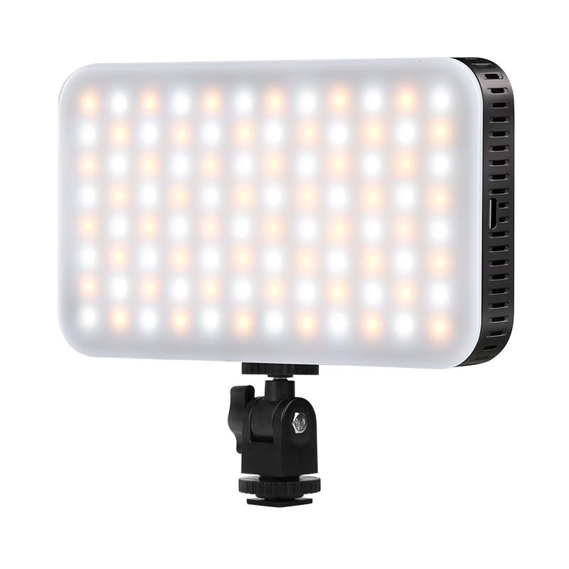 LED كاميرا فيديو ضوء ، التصوير الإضاءة ، 2700K-6500K عكس الضوء استوديو مصباح يوتيوب لايف ستريم ملء أضواء