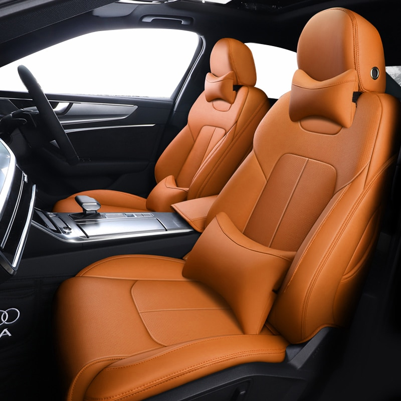Rojo cubiertas de asiento de coche para Audi a3 8p q5 a6...
