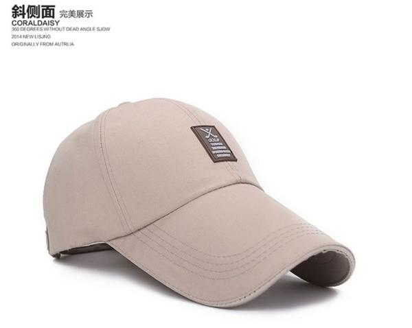 Gorra de algodón de marca Simple para hombre, gorra de béisbol Unisex de moda, gorra deportiva de Golf, gorra Casual sólida, sombreros para hombres y mujeres