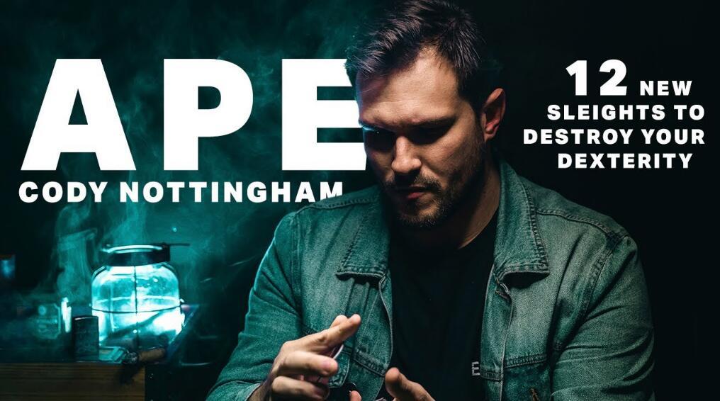Ape by Cody Nottingham Magic tricks