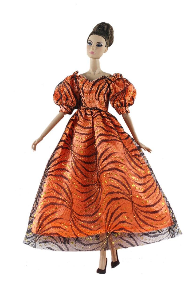 Conjunto de traje de vestir largo Vintage para Barbie BJD FR ropa...