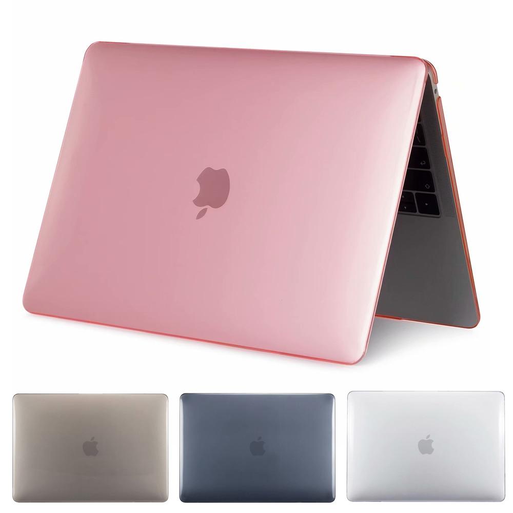 2019 New Laptop Case for MacBook Air Pro Retina 11 12 13 15 Mac Book Pro 15.4 13.3 inch Touch Bar A1706 A1989 A2159 A1707 A1990