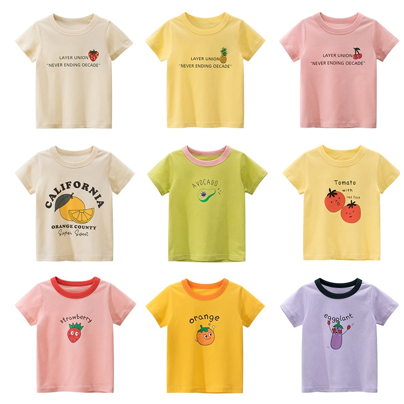 Girls Summer Children Clothing Boys T Shirt Cotton Short Sleeve T-shirt Infant Kids Boy Tops Casual T-shirt 2-4Y Shirt 2020 new summer boys t shirt girls t shirt girls t shirt cotton children s t shirt boys t shirt children s t shirt boys clothes
