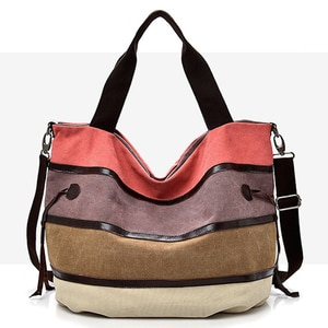 Уличная Холщовая Сумка, дамская модная Водонепроницаемая женская сумка-тоут, повседневная нейлоновая сумка на плечо, вместительная Холщов...