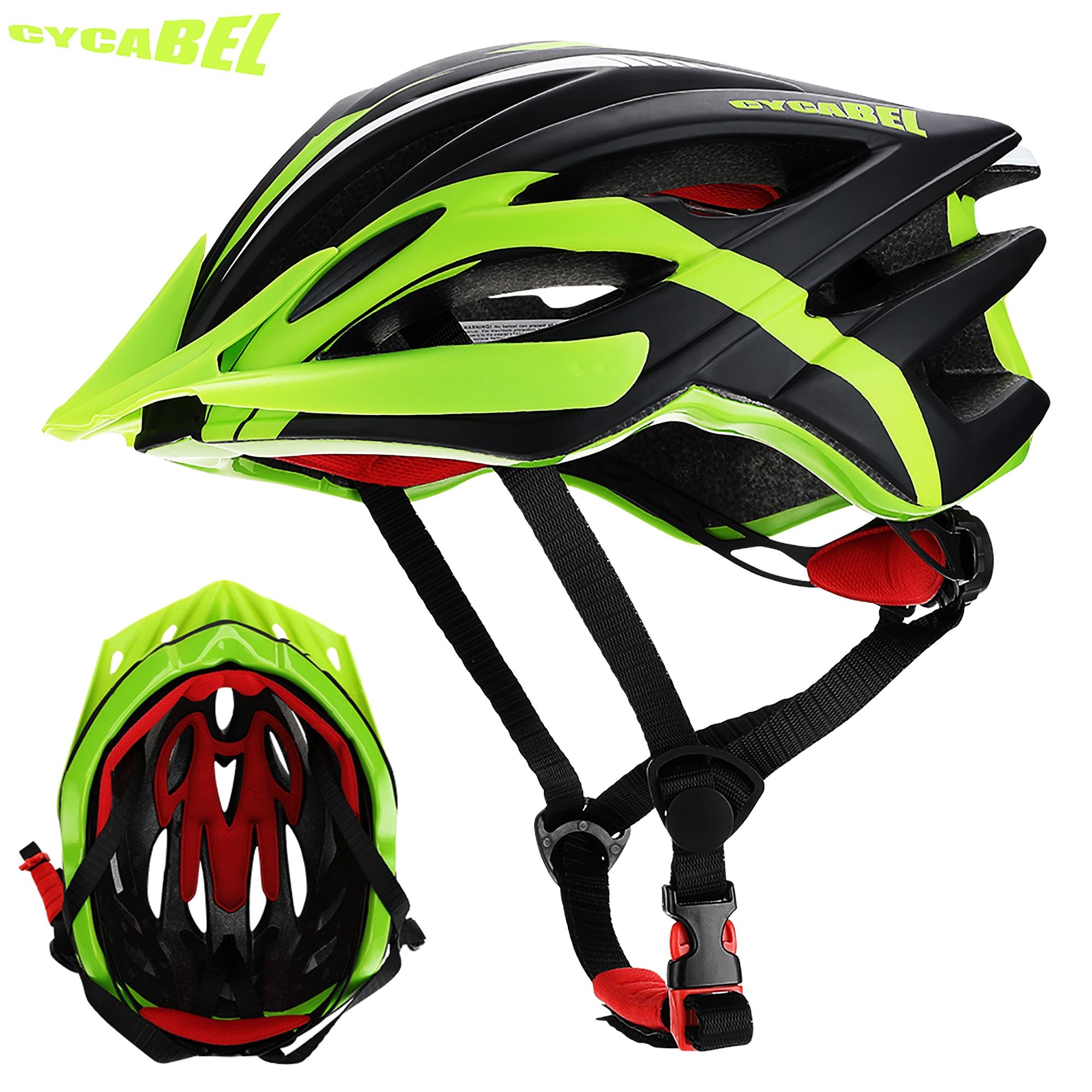 AliExpress - CYCABEL Bicycle Helmet Cycling Safe Hat In-mold Road Mountain Bike Helmet Ultralight MTB All-terrain Sport Riding Cycling Helmet
