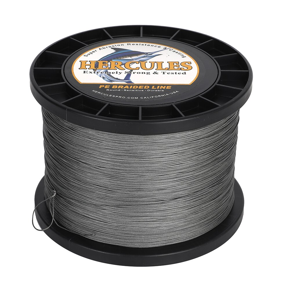 Hercules Sea Fishing Line 12 Strands 2000M Braided Multifilament Fishing Wire PE 15 Color Fishing Gifts for Men Europe America enlarge