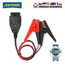 Разъем OBD2 для аккумулятора AUTOOL, кабель памяти OBD2 для аварийного отключения питания, BT 30 OBD 2, Автомобильный Электрический кабель