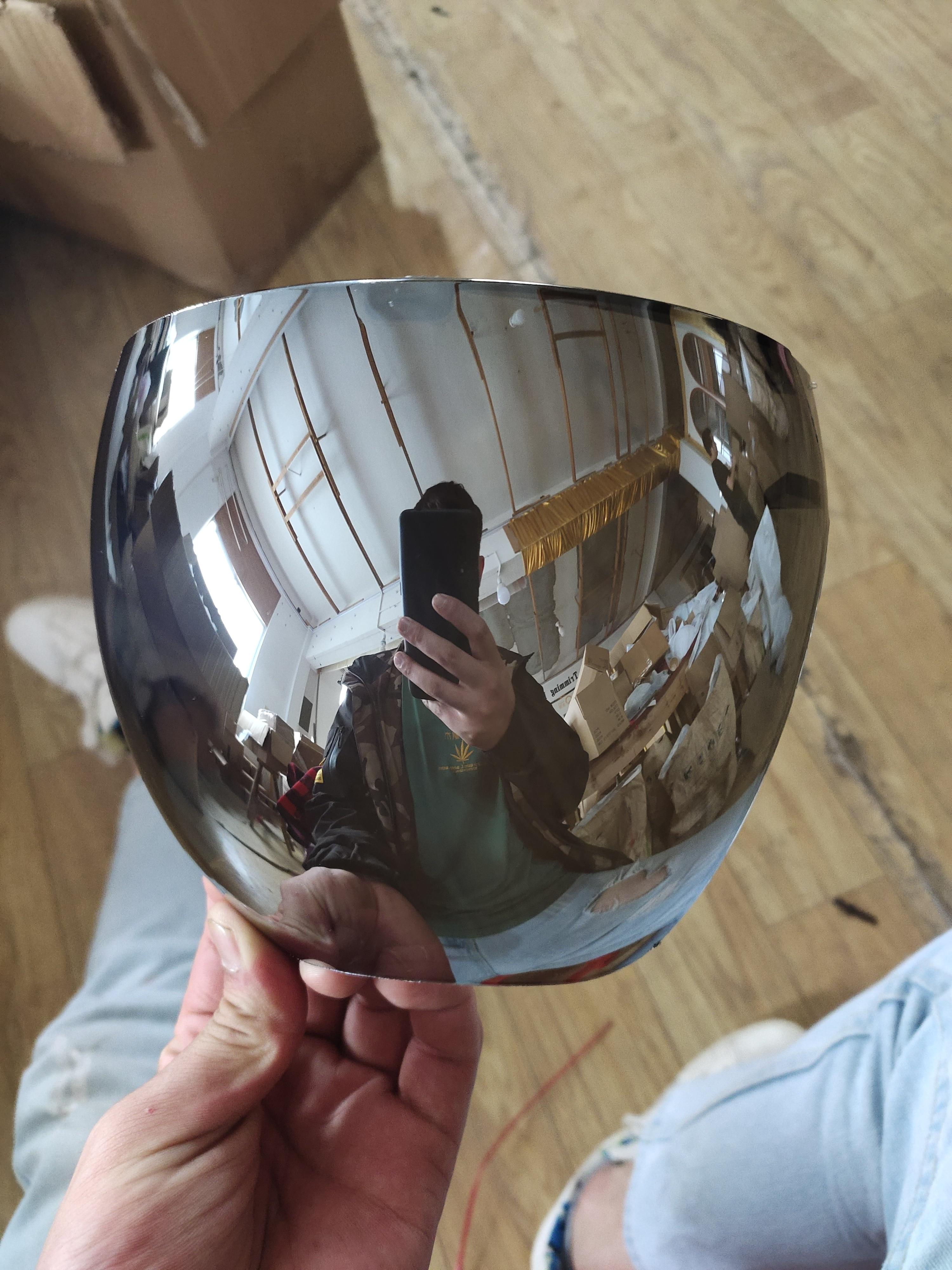 AliExpress - 1Pcs Silver Full Face Shield Unisex Oversize Shield Visor Sunglasses Plastic Sun Glasses for Men and Women Dropshipping
