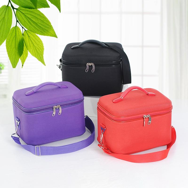 Women Profession Makeup Case Fashion Female Beautician Cosmetics Organizer Storage Box Nail Tool Suitcase For Women Make Up Bag