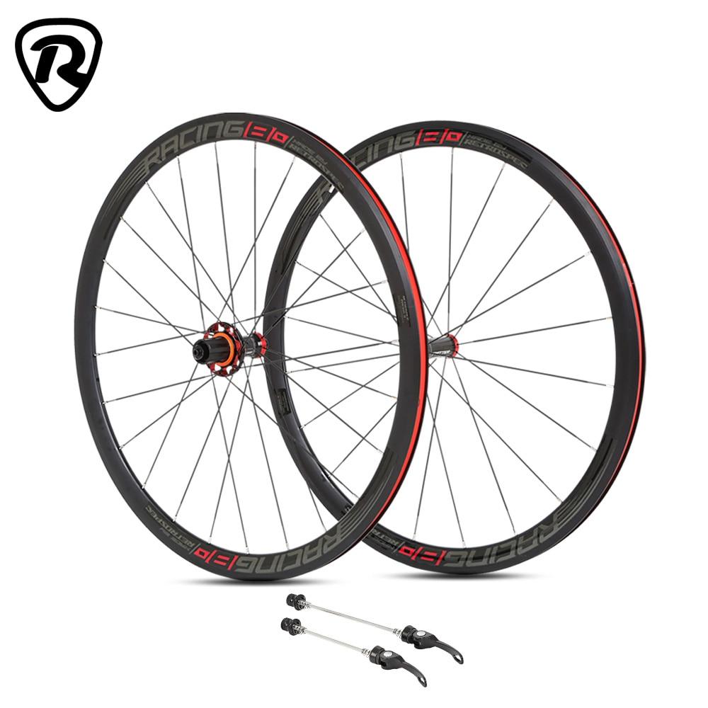 RS, recién llegado, juego de ruedas con cubierta alu 700c para ruedas de bicicleta de carretera con aleación de aluminio en carbono 3K, borde de cubo de 36mm