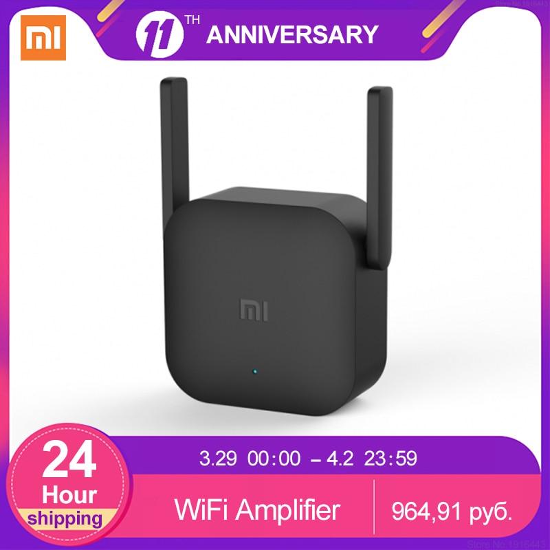 Xiaomi-Amplificador de WiFi Mi Pro 300Mbps, Repetidor Original, extensor de cobertura de...