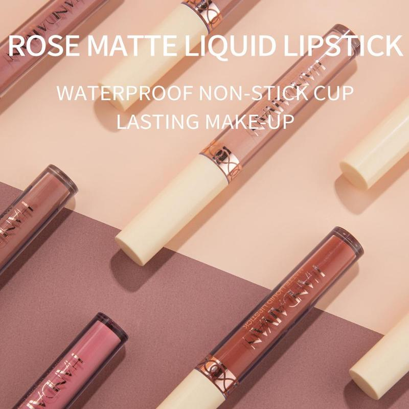 HANDAIYAN Liquid Matte Lipstick Set Waterproof Long Lasting Moisturizing Lipstick Tubes Women Lip Ti