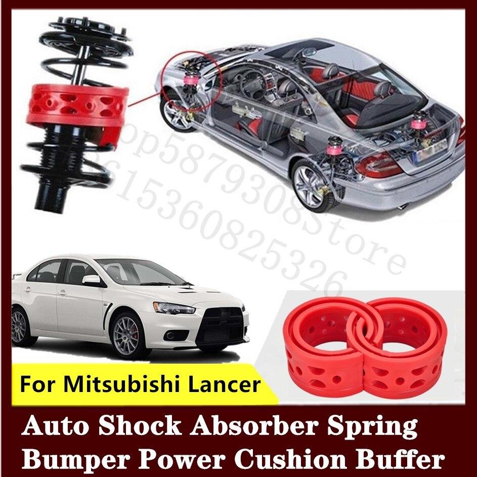 Amortiguador de coche delantero o trasero de alta calidad para Mitsubishi Lancer 2 uds amortiguador de coche de resorte de potencia de parachoques amortiguador automático