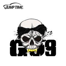 Jump Time 13 x 9.8cm For G59$uicideboy$ Skull Car Stickers Car Accessories Decal Waterproof Sunscree