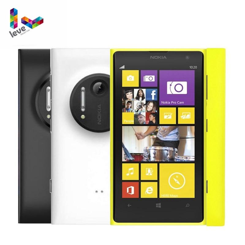-Teléfono móvil Nokia Lumia 1020 Original desbloqueado, smartphone con pantalla de 4,5...
