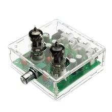 AC 12V 6J1 Valve Pre-amp Tube PreAmplifier Board Headphone Amplifier Buffer Case
