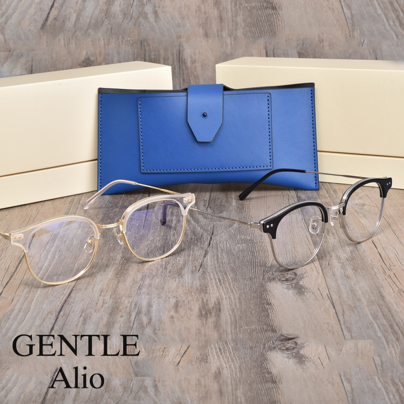 Korean brand GENTLE women men  Eyeglasses frames women men  Alio  Eyewear Frames Women Men For Reading Myopia Prescription lens