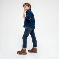 FLO RADELA Brown Male Child Boots KINETIX
