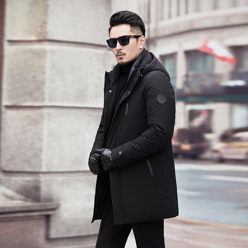Gran de talla grande 10XL 9XL 8XL 7XL chaqueta de invierno para hombre chaqueta Parka larga gruesa sombrero Parka abrigo hombre invierno ropa chaqueta abrigo