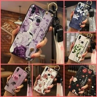 original for girls phone case for huawei honor 8c wristband new arrival for woman silicone
