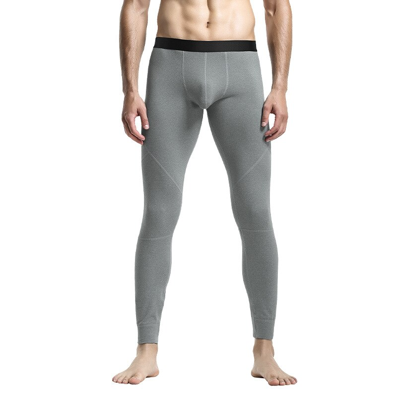Winter Men Warm Leggings Tight Long Johns Thin Fleeced Underwear Elastic Tights Mens Thermal Long Pants Thermo Bottoms Hombre