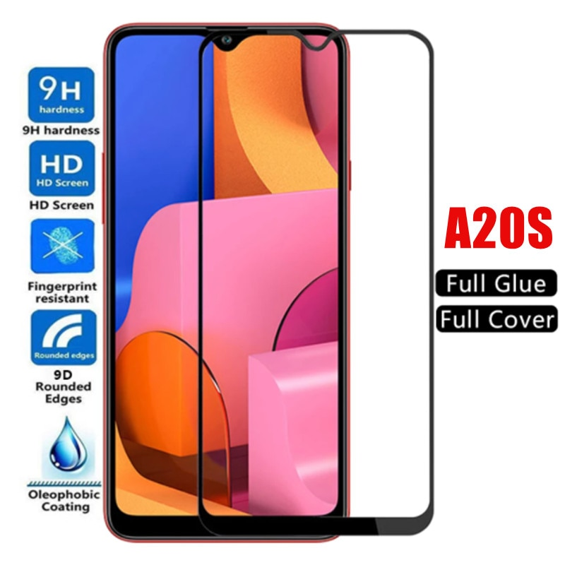 3pcs For Samsung A20s galaxy a20 s Phone Screen Protector Protective Glass on Galaxy A20s A 20S Full Cover Tempered Glass