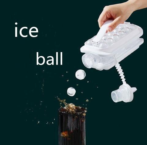 الجليد صنع صندوق المحمولة صندوق الثلج المجمدة الجليد قالب قطعة أثرية المنزلية سيليكون متعددة الوظائف جهاز تكوين الثلج آيس كيوب قالب المطبخ