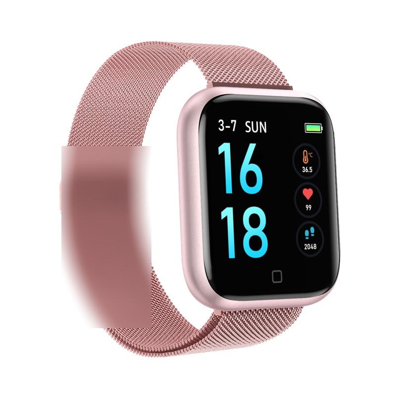 ساعة ذكية T80 ترقية مقاوم للماء T80S سوار ذكي النشاط جهاز تعقب للياقة البدنية مراقب معدل ضربات القلب الفرقة الرجال النساء smartwatch