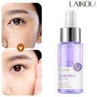 laikou blueberry anti wrinkles facial serum brighten skin tone hydrating repair damaged skin whitening remove spots skin care
