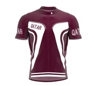 2021 new qatar multiple choices summer cycling jersey team men%e2%80%98s bike road mountain race tops riding bicycle wear bike clothing