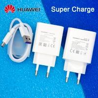 Оригинальное быстрое зарядное устройство HUAWEI 40 Вт 22,5 Вт Кабель Supercharge Type C для HUAWEI P30 P40 P10 P20 Pro lite Mate 9 10 Pro Mate 20 V20