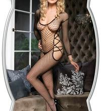 Ladies Women Sexy Lingerie Bodysuits Body Stocking Underwear Women Sexy Mesh Novelty & Special Use S