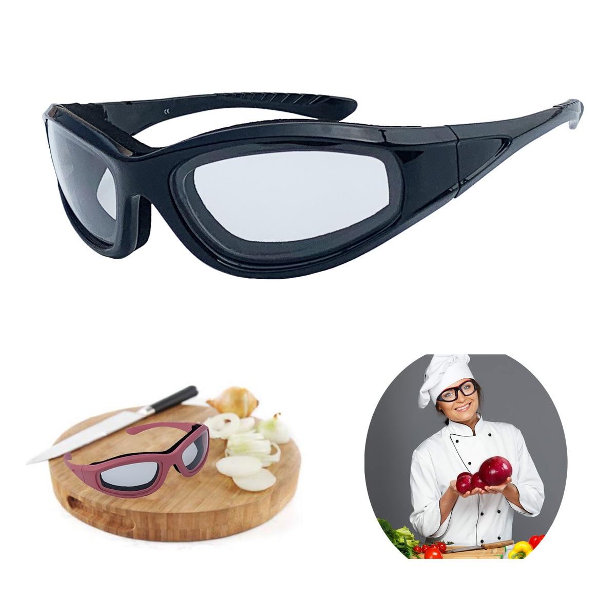 Cut onion garlic anti tears glasses closed onion goggles HD transparent