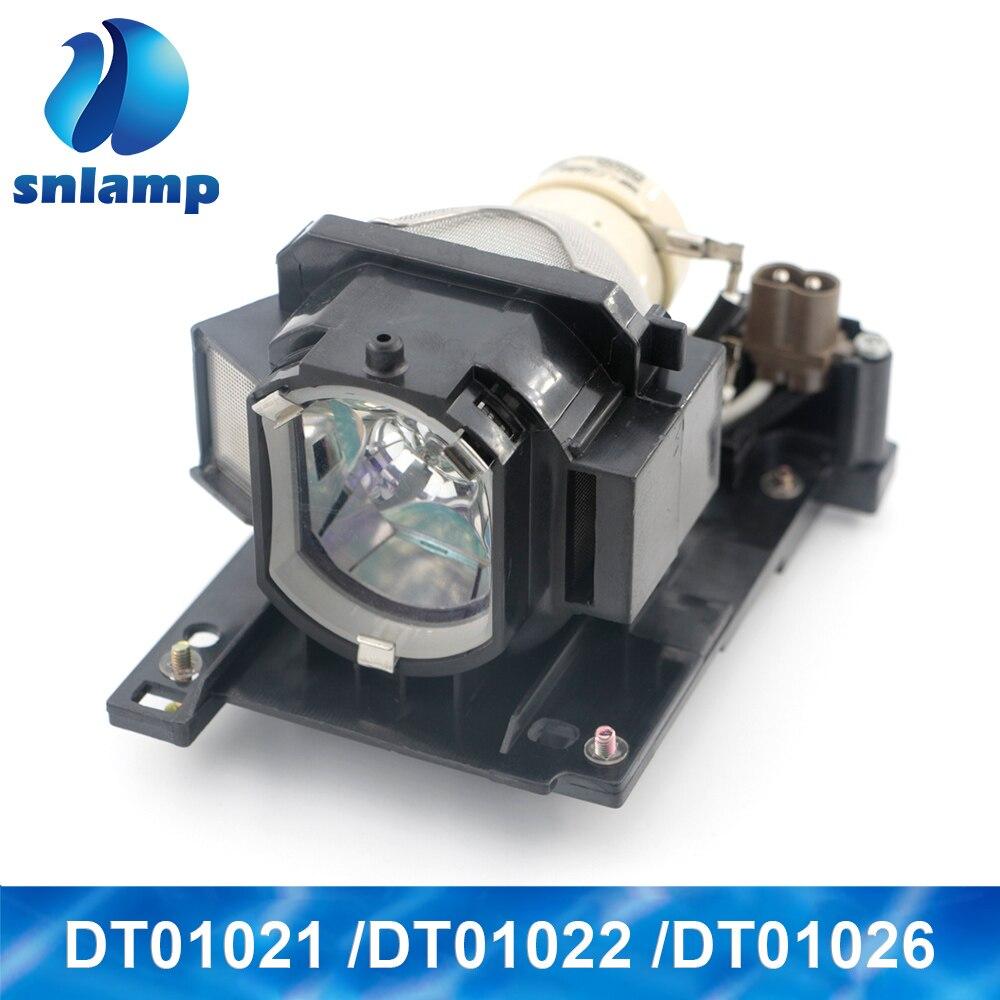 Lâmpada Do Projetor Original Lâmpada DT01021/DT01022/DT01026 para HITACHI CP-X3010/X3010E/X3010EN/X3010N/X3010Z /X3011/X3011N/RX78/RX78W