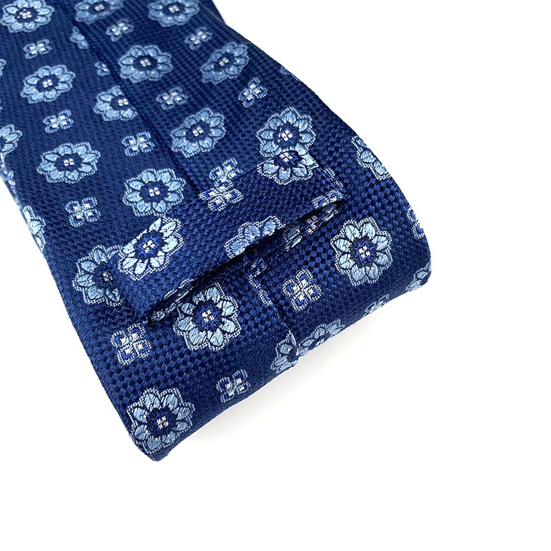 New Luxury 100% Natural Silk Neck Tie for Men 9cm Formal Shirt Geometric Striped Dots Flower Ties Wedding Party Gifts for Men