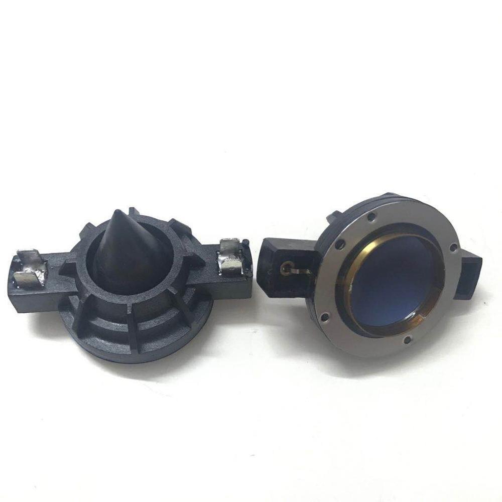 2 pçs alumínio alto-falante diafragma tweeter kit de reparo bobina voz 32 mm azul para electro voz dh3 dh2010a dh2010 ev32 driver e300