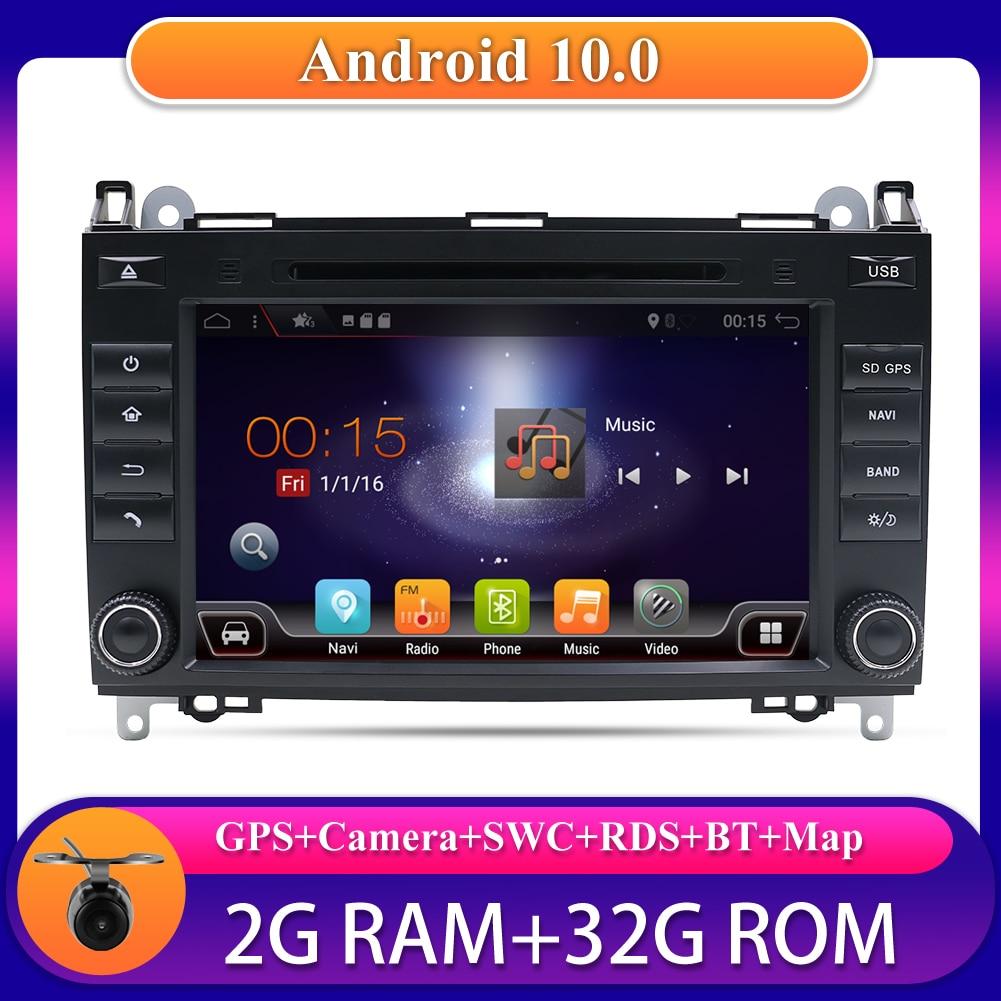 Автомобильный мультимедийный плеер 8 дюймов, Авторадио, GPS, DVD, CD для Benz Viano/Vito/Sprinter/W906/W245/Crafter, Wi-Fi, DAB, OBD, SWC