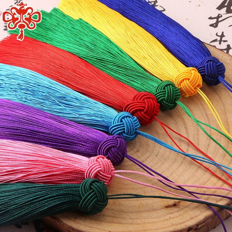 5 unids/pack gorra de piña de poliéster ventilador adorno de borlas decoración colgante oreja marcapáginas coche adornos ropa Kohoko