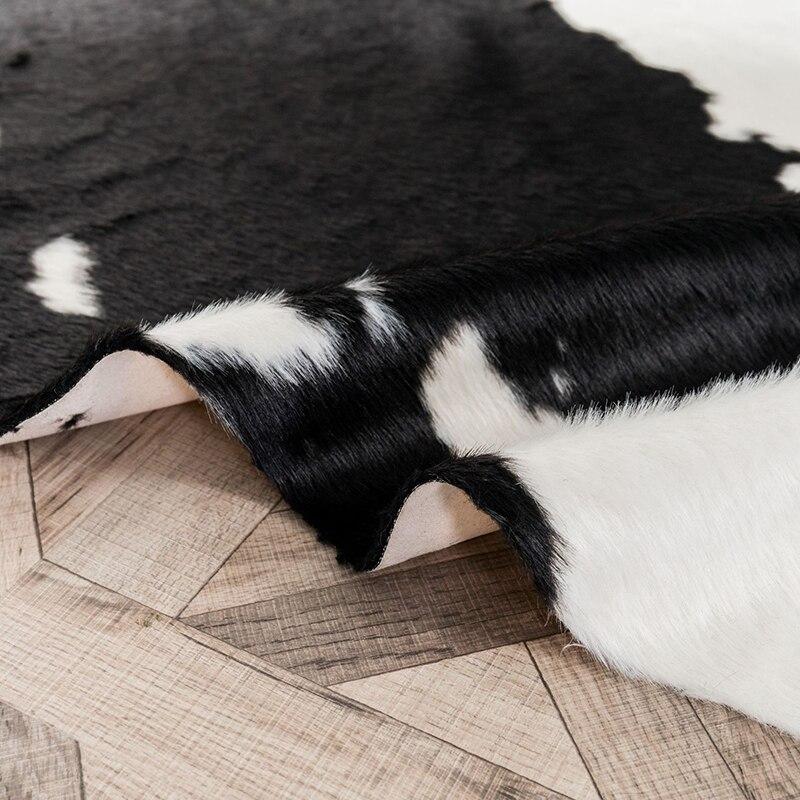 محاكاة البقرة السجاد الحديثة نمط غير النظامية البساط لغرفة النوم غرفة المعيشة المنزل الطابق ALI88